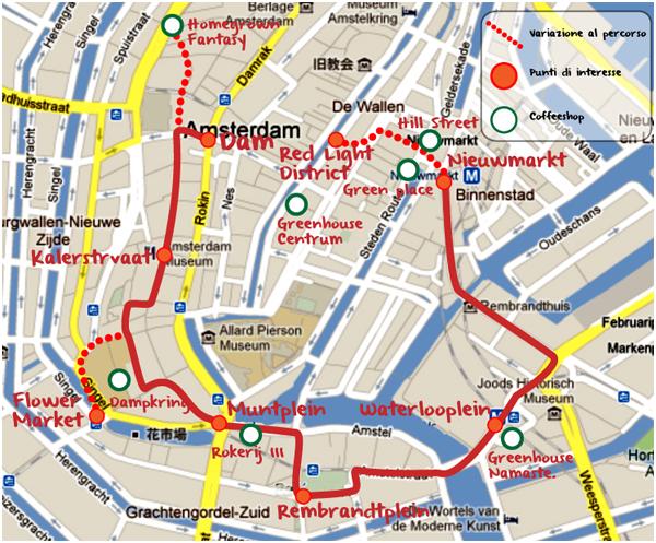 Vacanze amsterdam giorno 1 itinerario di 3gg for Centro di amsterdam